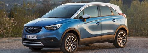 Opel Crossland X, le cousinage plus que la fraternité