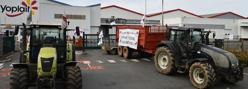 Les producteurs de lait continuent à se mobiliser dans l'Ouest