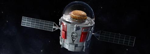 KFC envoie son burger dans la stratosphère