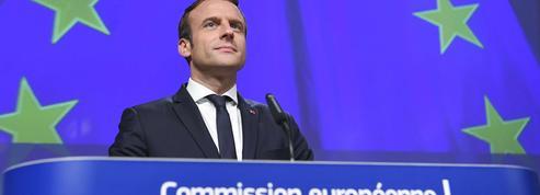 Macron à l'offensive sur l'Europe