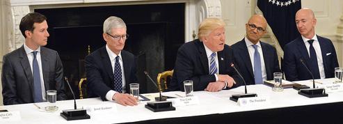 Trump renoue avec la Silicon Valley sur fond de tensions