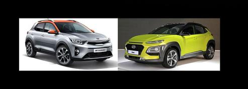 Kia Stonic et Hyundai Kona : les faux jumeaux arrivent en Europe