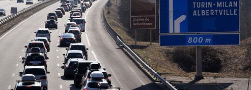 Sur certaines autoroutes, mieux vaut ne pas être trop pressé pour téléphoner