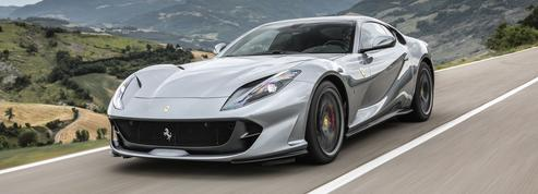 Ferrari 812 Superfast, en gardienne des traditions