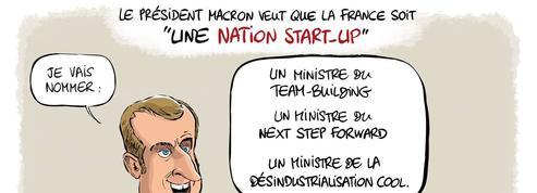 Le dessin d'Ixene : «M.Macron, CEO de la France»