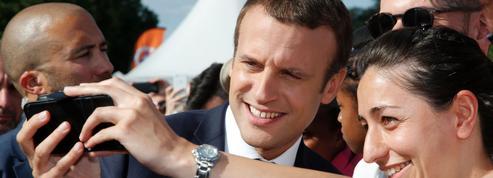 Sondage: les difficultés commencent pour Emmanuel Macron