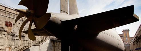 Dans les entrailles du sous-marin Le Redoutable à Cherbourg