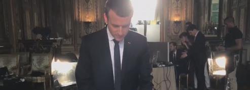 L'histoire secrète de la photo officielle d'Emmanuel Macron