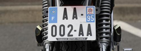 Les deux-roues doivent s'équiper de plaques d'immatriculation conformes à partir du 1er juillet
