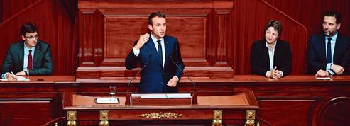 Congrès de Versailles : Macron évite les sujets qui fâchent