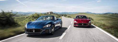 La Maserati Granturismo change de robe, pas de voix !