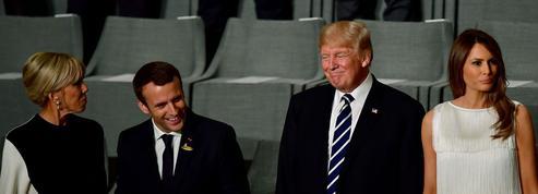 Avant le défilé du 14-Juillet, les couples Macron et Trump devraient dîner en ville