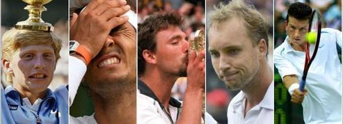 Les cinq plus grandes surprises à Wimbledon chez les hommes
