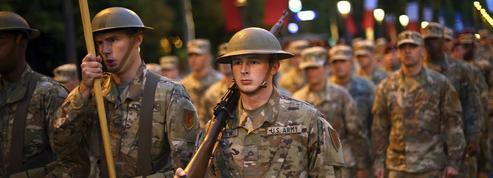 14 Juillet : les militaires américains en vedette sur les Champs-Élysées