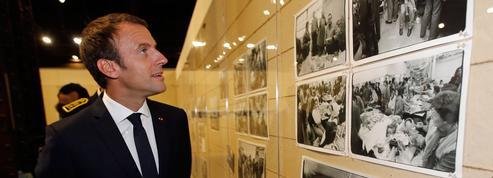 Emmanuel Macron de passage aux Rencontres de la photographie d'Arles