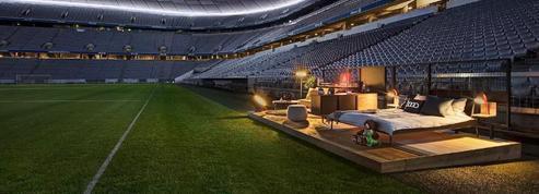 Le Bayern Munich propose une chambre sur la pelouse de l'Allianz Arena