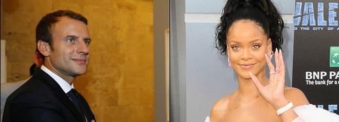 Après Bono, Emmanuel Macron recevra Rihanna à l'Élysée