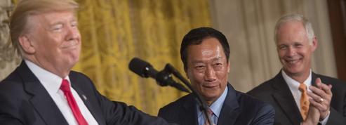 Foxconn va ouvrir une première usine aux États-Unis