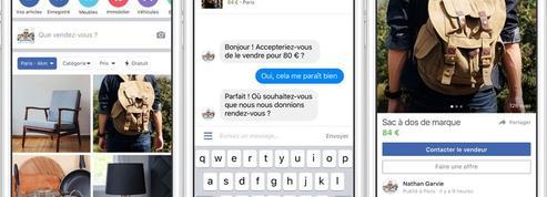 Facebook lance un concurrent de Leboncoin en France