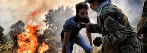 Groenland, Grèce, Portugal... les incendies se multiplient dans le monde