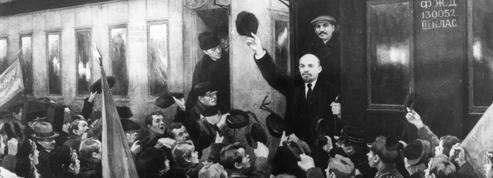 Le retour glorieux de Lénine à Petrograd
