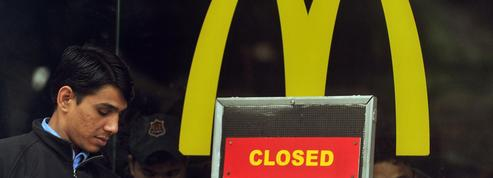 McDonald's ferme 40% de ses restaurants en Inde