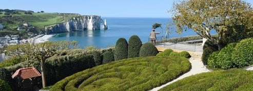 Entre ciel et mer, l'incroyable jardin russe d'Étretat