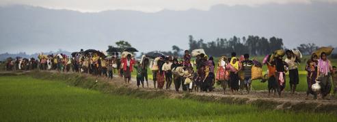 Les violences en Birmanie ont poussé plus de 120.000 Rohingyas sur les routes