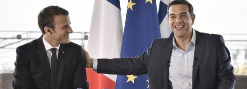 Irma : pas de polémique sur la visite en Grèce de Macron