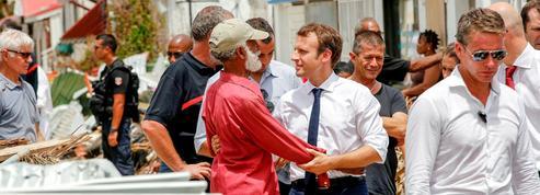 Irma: comment Macron a tenté d'éteindre la polémique aux Antilles
