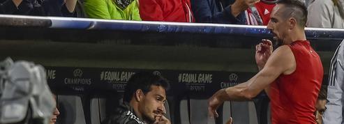 Furieux d'être remplacé, Ribéry jette son maillot