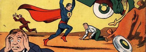 Superman défenseur des immigrés contre les suprémacistes blancs