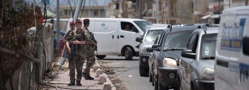 Saint-Martin : la population ravie de voir les militaires en ville