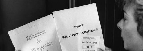 Il y a 25 ans, les Français disaient «oui» au traité de Maastricht