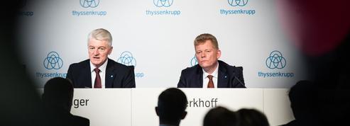 Acier: ThyssenKrupp se résout à un mariage de raison avec Tata Steel