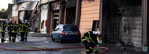 Incendie criminel à la gendarmerie de Grenoble