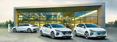 Hyundai Ioniq: une berline, trois propositions