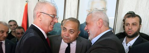 Retour sous les vivats du premier ministre palestinien à Gaza