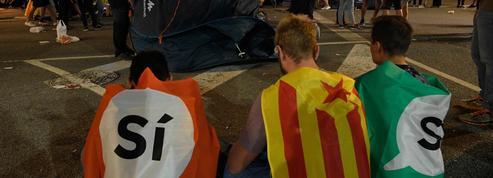À Barcelone, le quartier de Gracia sonné par l'indépendance en suspens