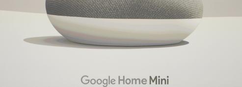 L'enceinte connectée Google Home Mini espionnait ses utilisateurs