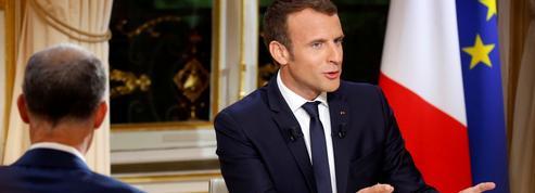 TF1 raffle la mise avec l'interview d'Emmanuel Macron
