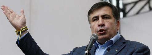 À Kiev, l'opposition reprend la rue à l'appel de Saakachvili
