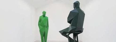Deux sculptures de Xavier Veilhan pour les 40ans de Beaubourg