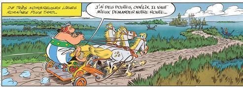 Astérix et la Transitalique :unFast and Furious à la mode antique!