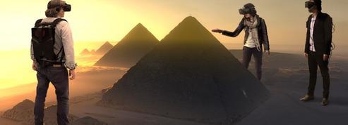 La pyramide de Kheops comme vous ne l'avez jamais vue