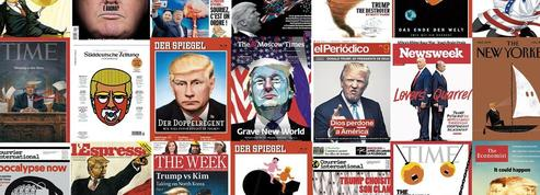 Une année de Trump en 50 unes marquantes de la presse mondiale