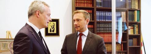 À Berlin, Le Maire défend l'Europe de Macron
