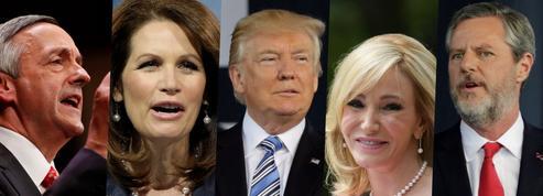 L'imposant conseil évangélique de Donald Trump