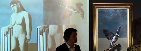 La Pose enchantée, un tableau disparu de Magritte, reconstitué virtuellement