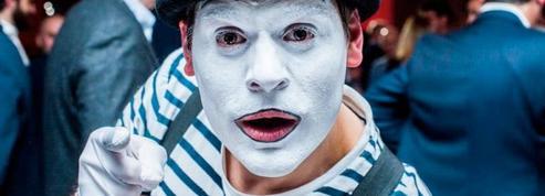Francis Perin, mime en scène